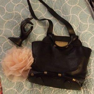 Zac posen leather bag